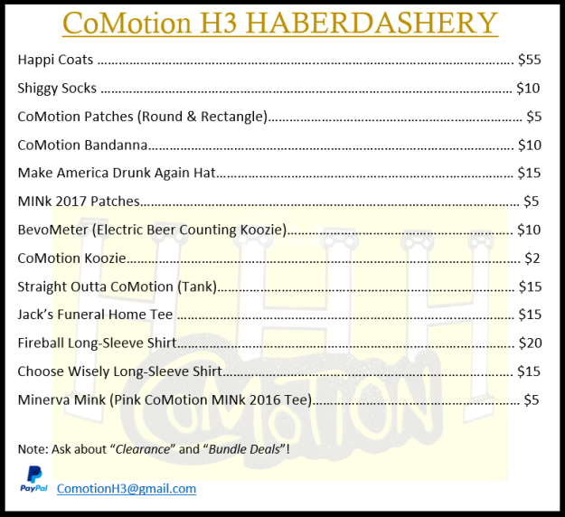 0.0-Haberdashery Price List