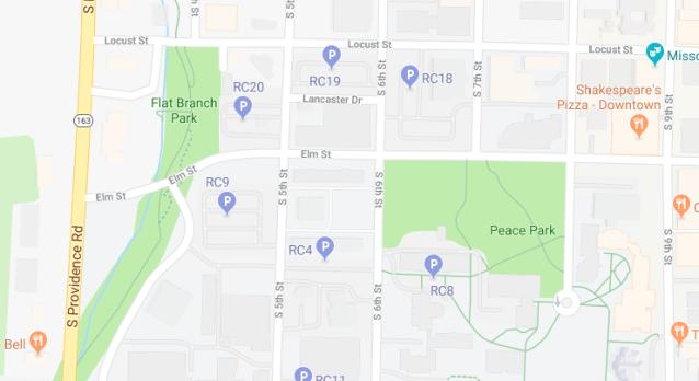 Parking-Near-Flat-Branch-Park