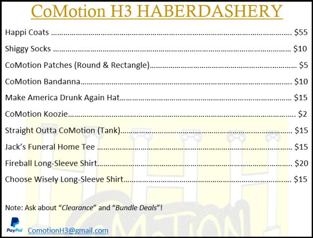 0.1-Haberdashery Price List