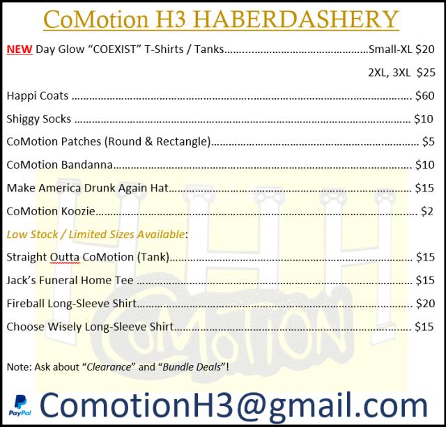 0.3-Haberdashery Price List