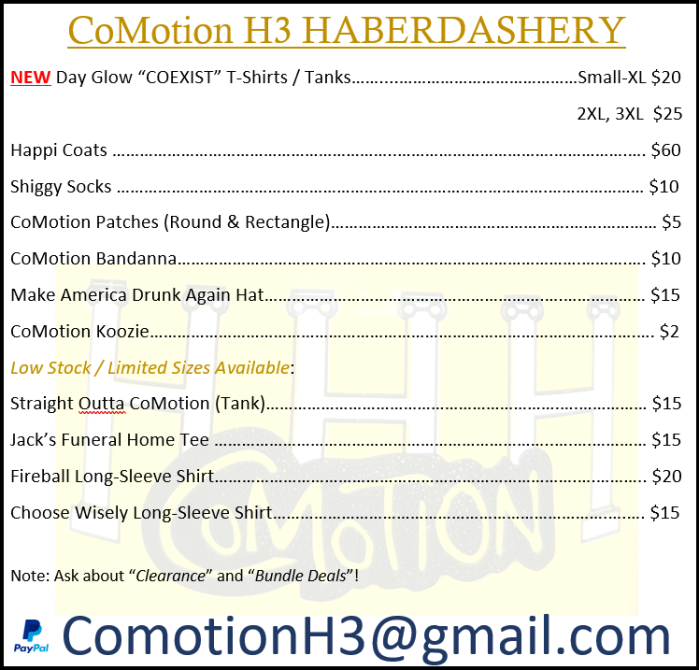 0.3-Haberdashery Price List